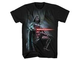 Star Wars Light Piercer Darth Vader Holding Light Saber T-Shirt NEW UNWORN - $19.34+