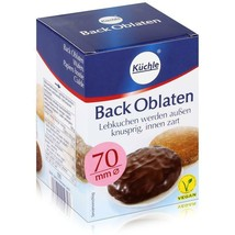 Kuchle Back-Oblaten oblaten wafers for baking 70mm -100ct -FREE SHIPPING - $9.36
