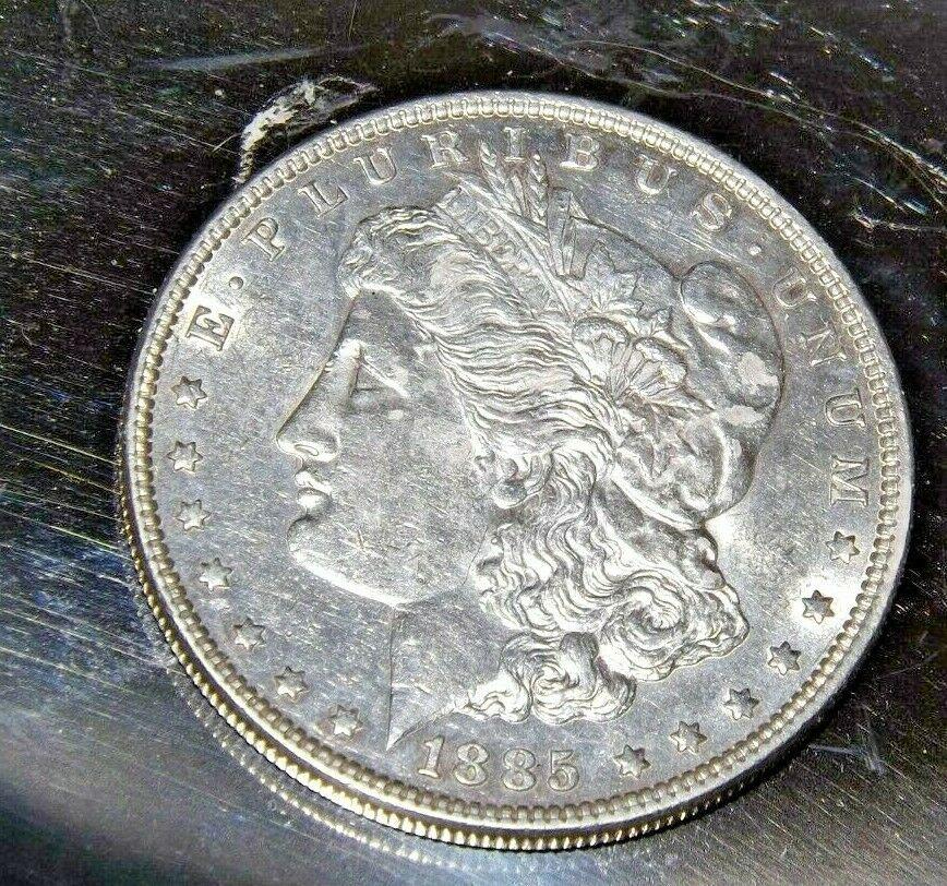 1885 P Morgan Silver Dollar AA19-CND6051