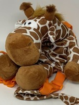 Animal Planet Giraffe Plush Soft Backpack Bag Harness With Toddler Safet... - $16.00