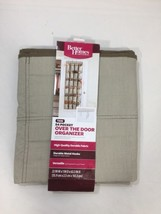 Better Homes 24 Pocket Over The Door Organizer 63 Inches 22 W Inches Brown - $17.77