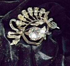 BROOCH marked EISENBERG ORIGINAL STERLING beautiful BROOCH - $148.50