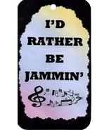 Ron's Hang Ups I'd Rather Be Jammin Music Themed Signs Sayings Plaques G... - $5.99
