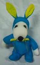"Peanuts EASTER SNOOPY AS BLUE BUNNY 8"" Plush Stuffed Animal - $14.85"