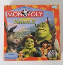 Shrek 2 Monopoly JR Board Game Parker Brothers 2004 - $14.01