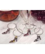 Dazzling Divas Collection Shoe Wine Charms - 72 Sets - $228.95