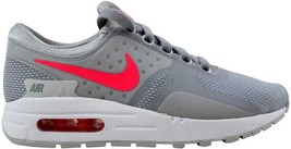 the latest 331d7 0fddb Nike Air Max Zero Essential Wolf Grey Racer Pink-White 881229-003 GS