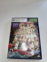 Kinect Adventures (Microsoft Xbox 360, 2010) - Complete New Sealed - $14.85