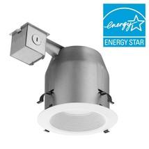 "Lithonia 5"" Matte White Recessed Baffle Integrated LED Lighting Kit - $54.00"