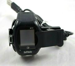 GolfBuddy WT3 GPS Rangefinder Watch with Charger Black DSC W100 - $78.75 CAD