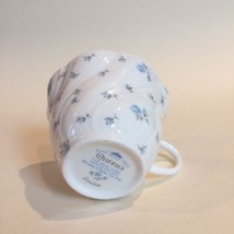 Queens Fine Bone China LOUISE Rosina Blue Floral Teacup NEW - $9.89