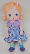 """MOOSHKA Dasha PEACOCK Dress +Shawl 13"""" Tall Soft RAGDOLL Zapf Doll BLOND... - $24.70"""