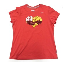 d3f26791c422 Nike  quot Chicago Marathon 2009 quot  Short Sleeve Shirt Women  39 s Size