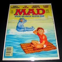 MAD Magazine 286 April 1989 ESKIMO Ice Raft Richard Williams Cover Art E... - $15.19