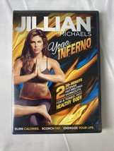 Jillian Michaels Yoga Inferno (DVD) 2 30-Minute Intense Fat-Melting Work... - $8.95