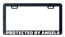 Protected by Angels God Lord Jesus Faith license plate frame holder tag - $5.99