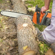 16-inch Electric Chain Saw with Automatic Oiling - $106.99