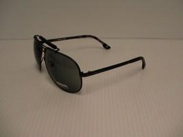 DIESEL Nuevas Gafas de Sol Hombre DL0027 02A 63/11 Gris Lentes con Cuero... - $83.90