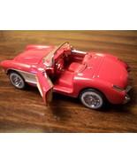 FRANKLIN MINTVINTAGE DIECAST RED CORVETTE CAR CONVERTIBLE IN STYROFOAM - $19.80