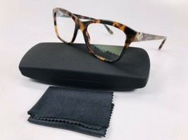 New BVLGARI 4080-B 5243 Havana Eyeglasses with Crystals 51mm with Case - $92.07