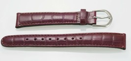 Fossil Women's Purple Grape Textured Leather Replacement Watch Band 18mm - $9.36