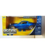 Jada Big Time Muscle 2010 Ford Mustang GT (Blue) - Die-Cast 1:32 - New - $17.57