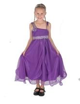Cinda Purple Flower Girl Dress Party Dress Bridesmaid Dress 12 Month - 1... - $16.75+
