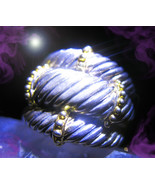 FREE W OOAK HAUNTED RING YOU SHALL NOT HARM OR EFFECT MAGICK 925 7 SCHOLARS - $0.00