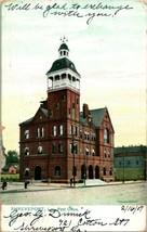 Vtg Postcard 1907 Tuck's Raphotype Shreveport, LA Post Office Building  - $19.95
