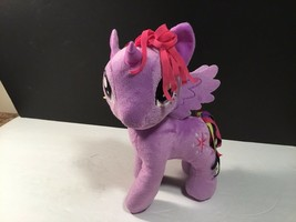 My Little Pony 2014 Hasbro Purple Pony with Stars Twilight  Stuffed Animal Toy - $9.49
