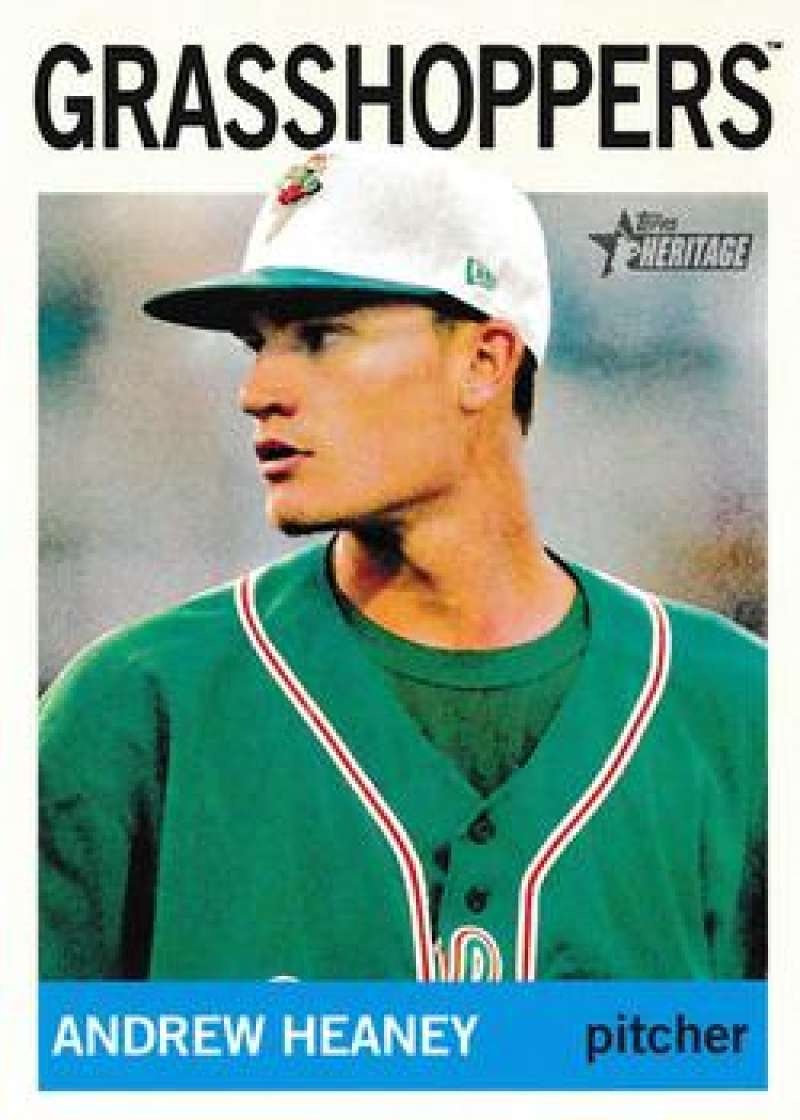 Primary image for 2013 Topps Heritage Minor Leagues #204 Andrew Heaney NM-MT (SP - Short Print)