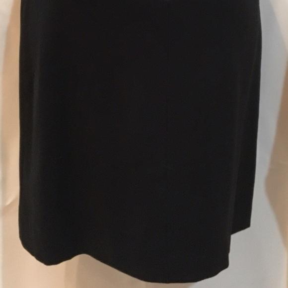 Banana Republic Black sleeveless Wool shell dress 0