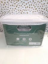 AllerEase KING SIZE Mattress protector Waterproof UP TO 18'' DEEP- BRAND NEW  image 8