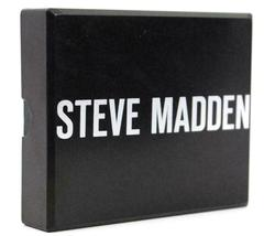 NEW STEVE MADDEN MEN'S PREMIUM LEATHER CREDIT CARD ID WALLET BLACK N80029/08 image 5
