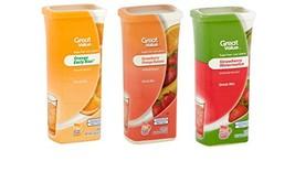 Great Value Drink Mix, Sugar Free, Early Rise Orange, Orange Strawberry ... - $14.40
