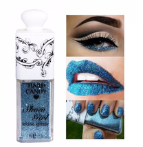 Hard Candy ❤ Show Girl Loose Glitter Face Makeup Body Nails Blue Chip 005 New!!! - $6.11