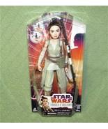 Star Wars FORCES of DESTINY Doll REY of JAKKU ORIGINAL PACKAGING UNOPENE... - $11.79