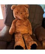 "Huge 44"" 1970's Paddington Bear Eden Plush Stuffed Animal Toy Vintage Jumbo - $186.64"
