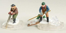 Dept 56 Heritage Village - Blue Star Ice Harvesters # 5650-2 NEW - $15.88
