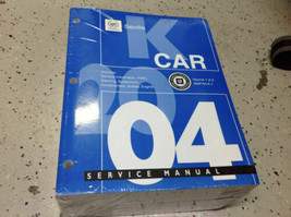 2004 Cadillac Seville Service Reparatur Shop Werkstatt Manuell Set Brand... - $178.16