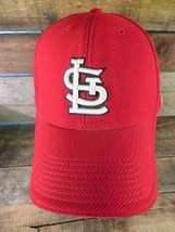 St Louis Cardinals New Era Baseball Fitted Size M/L Adult Hat Cap - $11.87