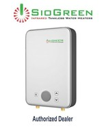 Water Heater Electric Tankless SioGreen Infrared IR260POU 1.5 GPM Best U... - $299.99