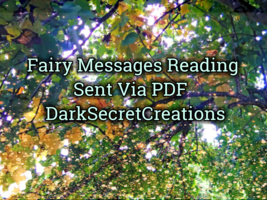 Fairy Messages Intuitive Psychic Reading - $5.00+