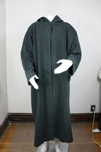 Eileen Fisher Abrigo de Lana Talla 1 Verde Hecho en Eua Chaqueta con Cap... - $79.99