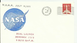 Dual Launch Aerobee 170'S White Sands Missile Range, Nm 7/16/1971 - $1.84