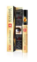 Genuine Eveline Cosmetics SOS Lash Booster Argan Oil Eyelash Serum 5-in-... - $13.50