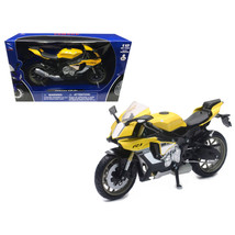 2016 Yamaha YZF-R1 Yellow Motorcycle Model 1/12 by New Ray 57803B - $21.98