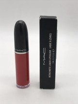 MAC Retro Matte Liquid Lipcolour FEELS SO GRAND Full Size 5ml.NIB AUTHENTIC - $29.69