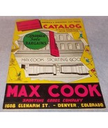 Max Cook Sporting Goods Catalog 22nd Anniversary 1930s Fishing Reel Hunt... - $35.00