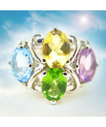 CASSIA4 HAUNTED RING 12,000x PATH OF JEWELS RICHES MAGICK MAGNIFICENT CO... - $277.00